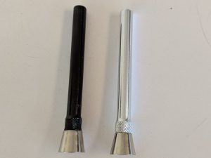 Metal Slider with Clip - 4.5 inches