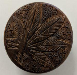 Wooden Grinder - Engraving
